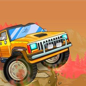 Liga monster trucků hra online