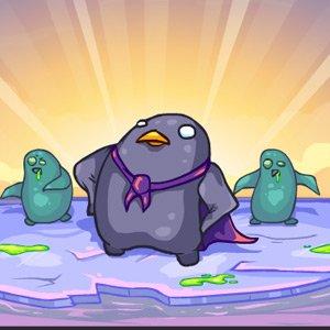 Zombie tučňáci útočí hra online