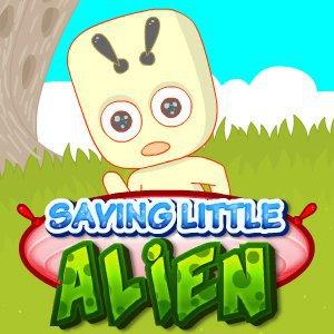 Záchrana malých mimozemšťanů hra online