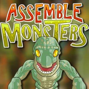 Puzzle příšery hra online