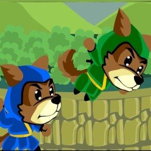 Psí ninjové hra online