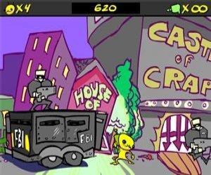 Mimozemšťan Hominid hra online