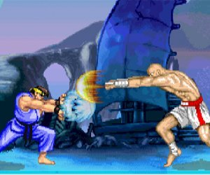 Street Fighter II hra online
