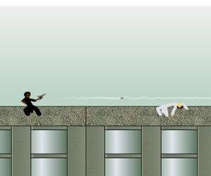Bojovka v matrix stylu hra online