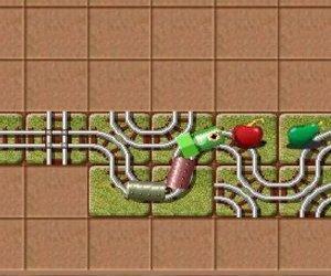 Vlakové koleje hra online
