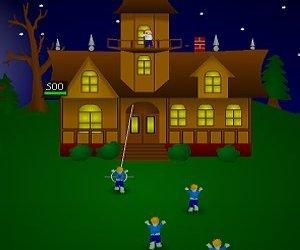 Halloweenský večer hra online