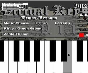 Virtuální piano hra online