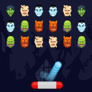 Halloweenský arkanoid deluxe hra online