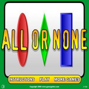 Všechno nebo nic hra online