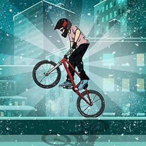 BMX zimní edice hra online