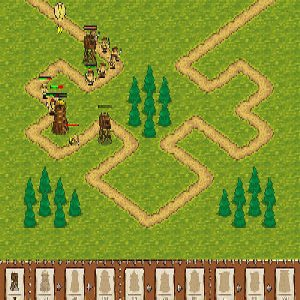 Obrana ostrova hra online