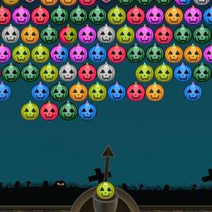 Halloweenské míčky hra online