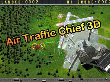 Řízení letového provozu 3D hra online