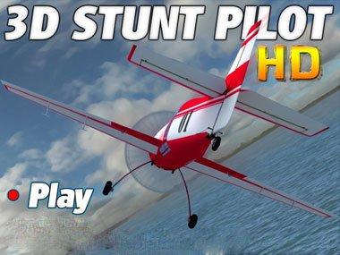 3D Pilot letadla HD hra online